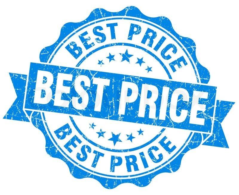 8098763-best-price-grunge-round-blue-seal