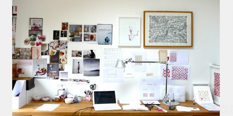 menata meja kantor
