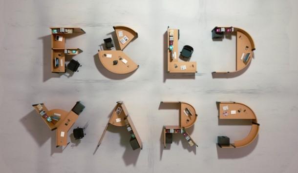 meja kantor, Meja Kantor Yang Sanggup Mengubah Ruangan Jadi Pertunjukan