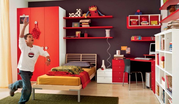 kamar anak, Ikuti Cara Ini Jika Ingin Kamar Anak Selalu Rapi
