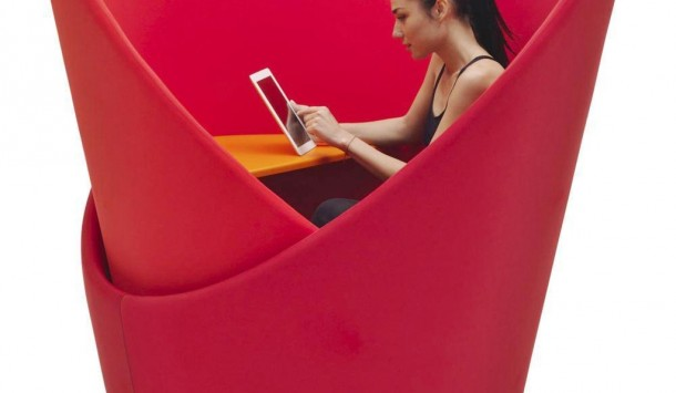 kursi kerja, Asiknya Bekerja Dengan Kursi Kerja Campeggi Tuttomio