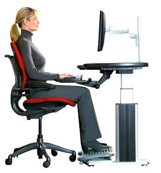 kursi ergonomis