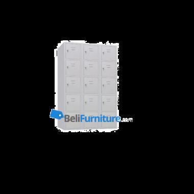 HighPoint Granada Locker Besi 15 Pintu - AISL15BLFF -
