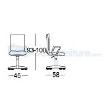 Kursi Staff/Manager Chairman MC-1803 -
