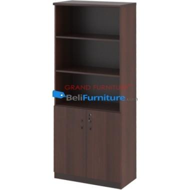 Grand Furniture DC 805 H (kabinet Tinggi Tanpa Pintu Kaca) -