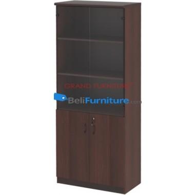 Grand Furniture DC 807 H (kabinet Tinggi Tanpa Pintu Kaca) -