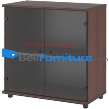 Grand Furniture DC LD 7 (Kabinet Rendah Pintu Kaca) -
