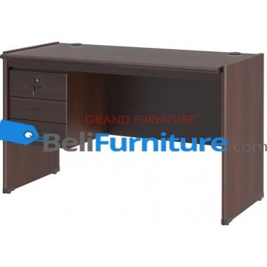 Grand Furniture DC MT 502 B CC (Meja 1/2 Biro Super Tanpa Laci) -