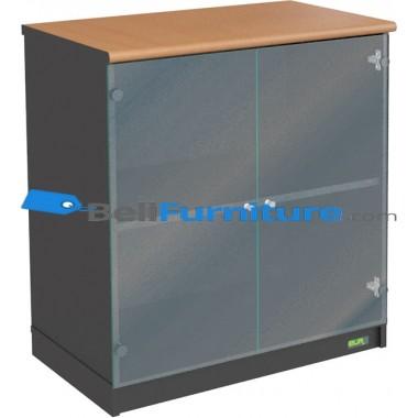 Euro DLC 8182 (Lemari Bagian Bawah Pintu Kaca) -
