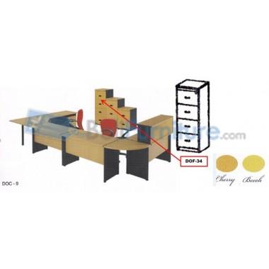 Filing Cabinet Donati DOF34 -