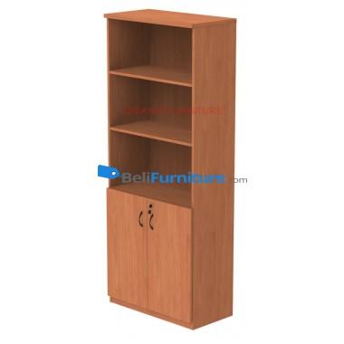 Grand Furniture DVL 805 H (Kabinet Tinggi Tanpa Pintu kaca) -