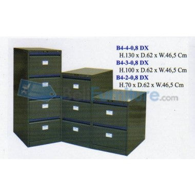 Filing Cabinet Elite B4 4-08DX -