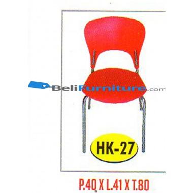 Kursi Susun Polaris HK 27 (Kaki chrome) -