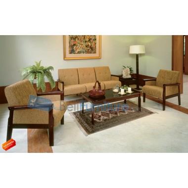 Ruang Keluarga Ligna Sofa Ivory (SF-030) -
