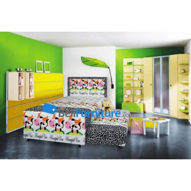 Floresta KIDS-Series Two In One (Cow) 100x200 -