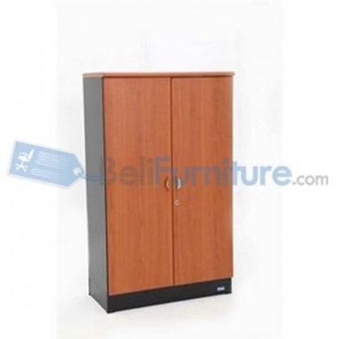 Uno Platinum Lemari Arsip 3 Rak+Afron Tinggi 132 cm Pintu Panel + Afron -
