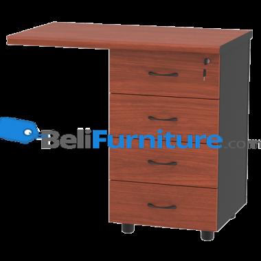 Grand Furniture LX 8050 RT (Meja Samping 80 + Laci Kunci Sentral) -