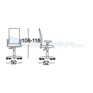 Kursi Staff/Manager Chairman MC-1301 A -