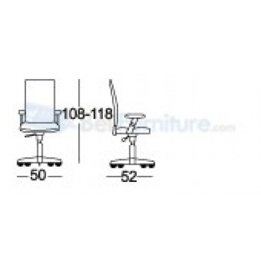 Kursi Staff/Manager Chairman MC-1301 -