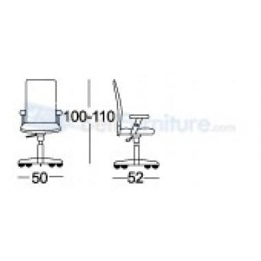 Kursi Staff/Manager Chairman MC-1303 A -