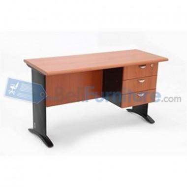Uno Platinum Meja Kantor 140 cm -