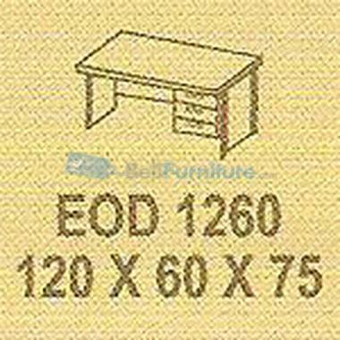 Office Furniture Modera EOD 1260 P (Tanpa Laci) -