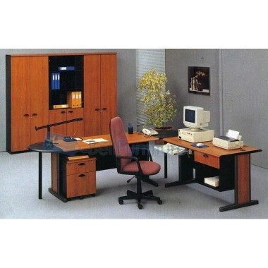 Paket Meja Kantor V-Class (Meja 150 CM) -