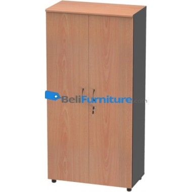 Grand Furniture ND HB 6 (Kabinet 4 Rak + Pintu Kayu Full) -