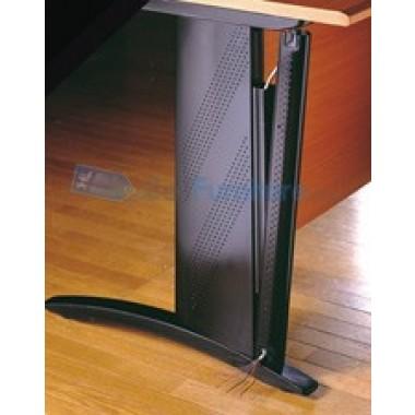 Uno Platinum Lemari Arsip 2 Rak+Pintu Kaca Tinggi 62 cm -