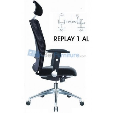 Kursi Staff/Manager Donati Replay1 AL -