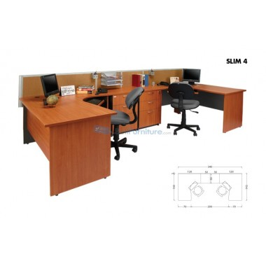 Arkadia Configuration Dua Staff (Slim-4) -