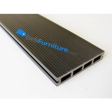 Techwood Decking 150 Black Front (150 x 25 x 2200 mm) -
