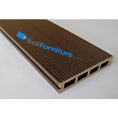 Techwood - Decking 150 Dark Brown Front (150 x 25 x 2200mm) -