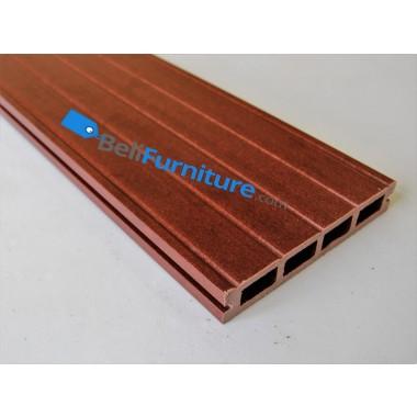 Techwood - Decking 150 Red Mahogany Back (150 x 25 x 2200mm) -