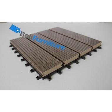 Techwood - Tile Front Natural Colour  -
