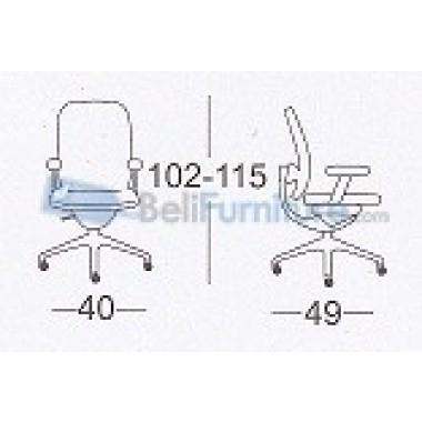 Kursi Staff/Manager Chairman TS-0503 -