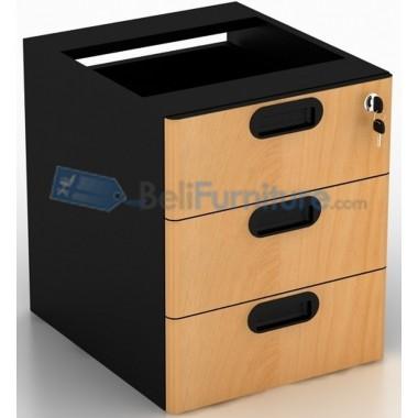 Uno Laci Gantung 3 Drawer UFD1183(grey) / UFD1133(beech) -