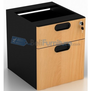Uno Laci Gantung 2 Drawer UFD1184(grey) / UFD1134(beech) -