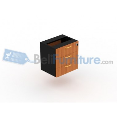 UNO Gold Laci Meja Samping  UFD 4150 (3 Laci, Single Lock) -