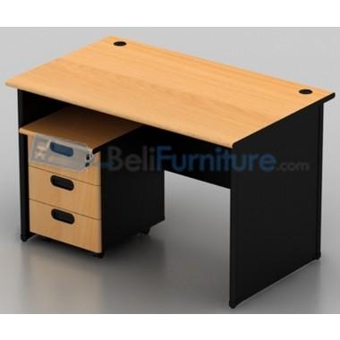 Uno Classic Meja Kantor 120 cm -