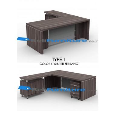 Grand Furniture VEA 2290 Type 19 (tidak termasuk meja samping dan laci sorong) -