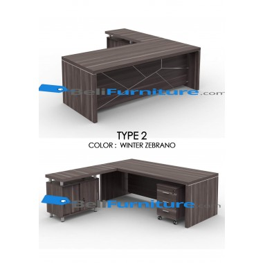Grand Furniture VEA 2290 Type 2 (tidak termasuk meja samping dan laci sorong) -