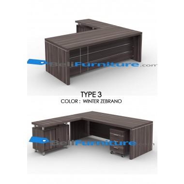Grand Furniture VEA 1890 Type 3 (tidak termasuk meja samping dan laci sorong) -