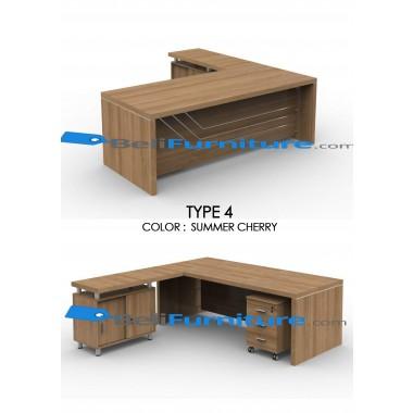 Grand Furniture VEA 2290 Type 4 (tidak termasuk meja samping dan laci sorong) -