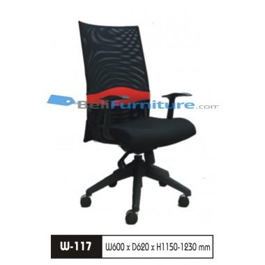 Kursi Staff/Manager Wiz W 117  -