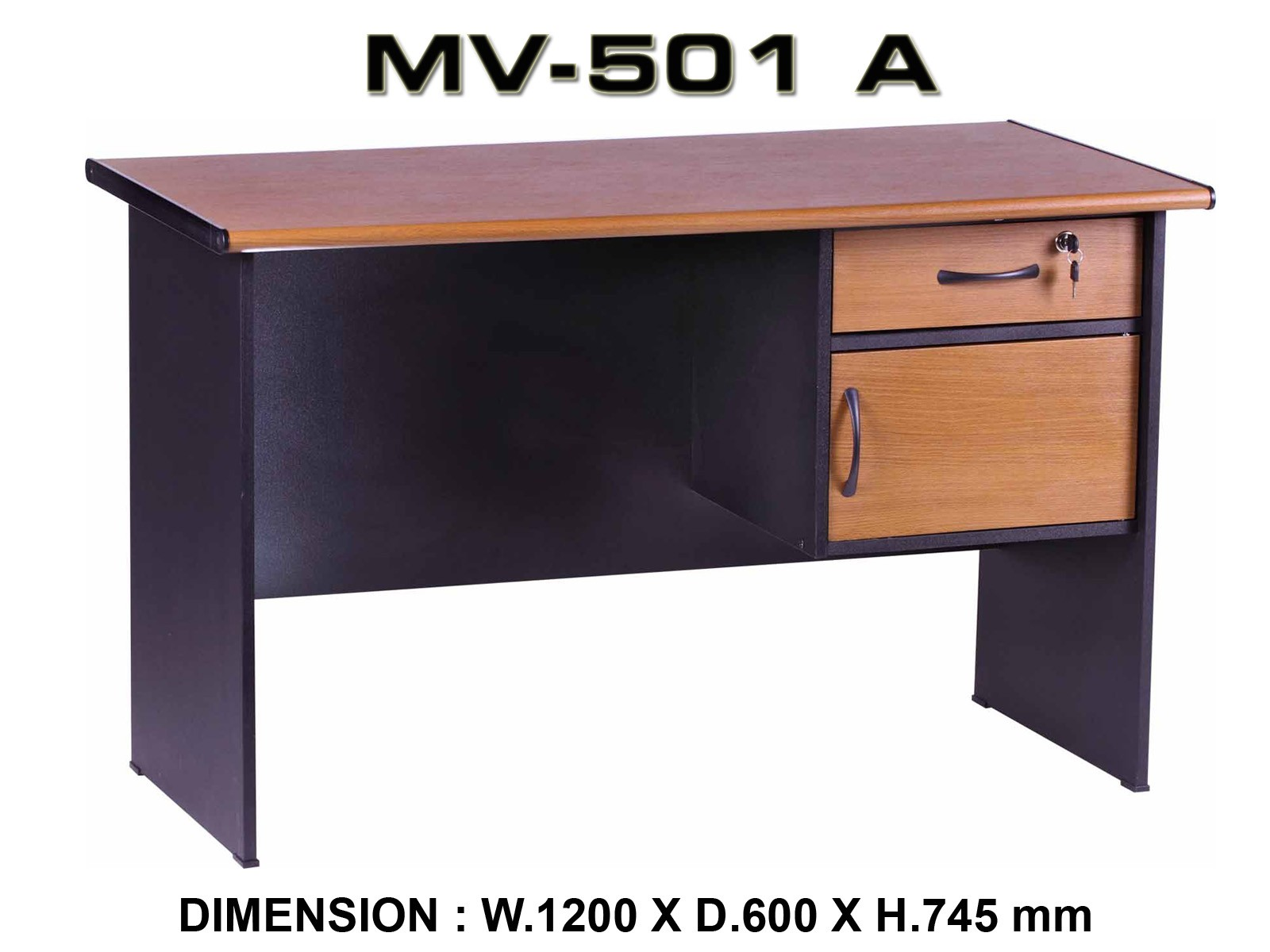 Meja Kantor VIP MV 501A Peralatan Kantor