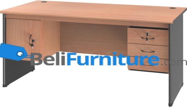 Grand Furniture NB 503 S (Meja 1 Biro Super + Kotak Laci + Kotak Pintu