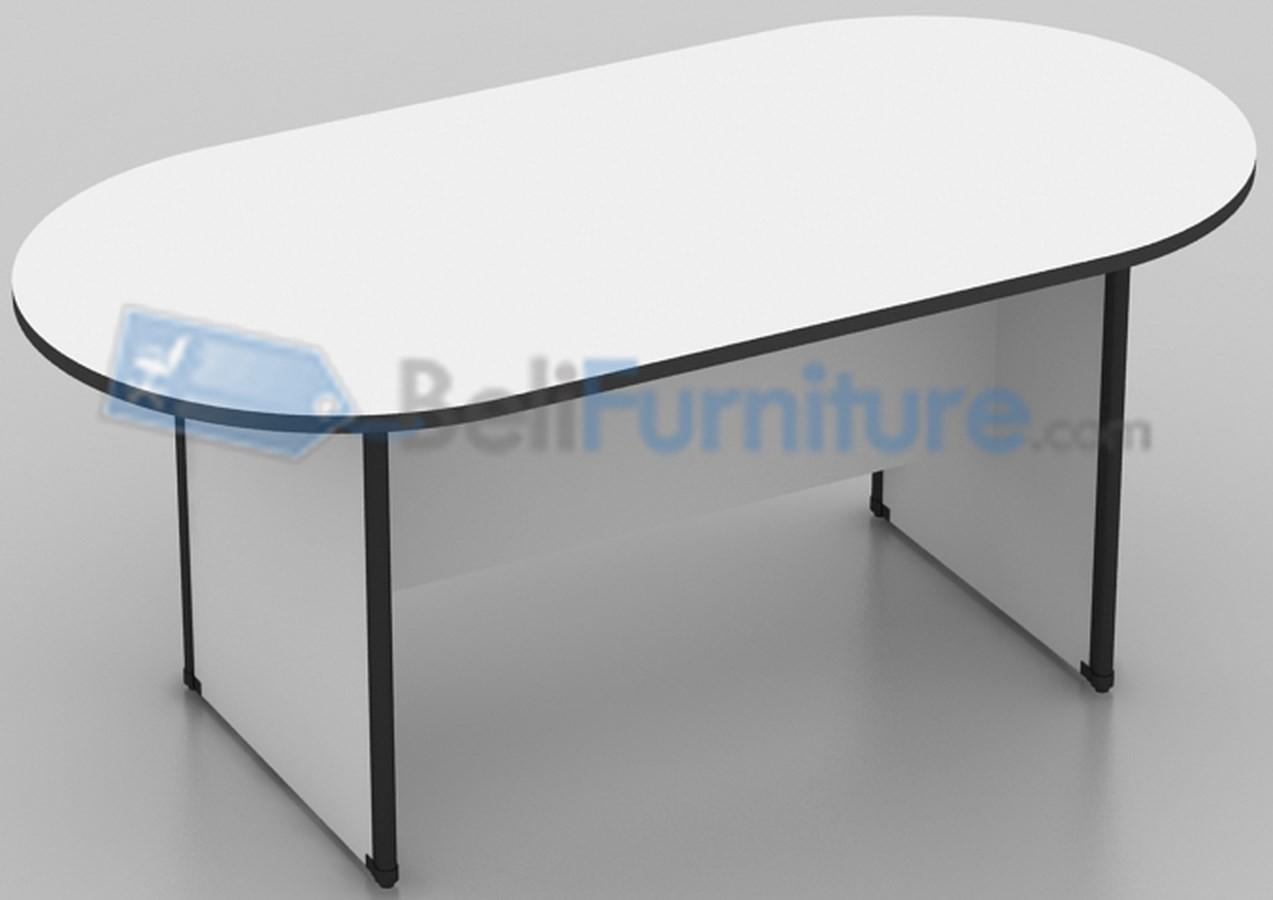 Uno classic meja meeting oval 180 cm murah bergaransi for Sofa bed yang bagus merk apa