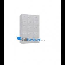 HighPoint Granada Locker Besi 15 Pintu - AISL15BLFF