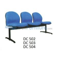 Kursi Visitor Sambung Daiko DC-502 (Dua dudukan)